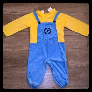 Other - Despicable Me Minion velour costume, toddler 3t